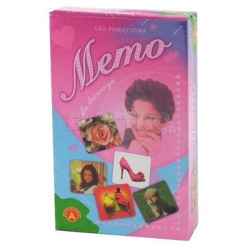Gra ALEXANDER Memo dla dziewczynki - mini z kategorii gry dla dzieci