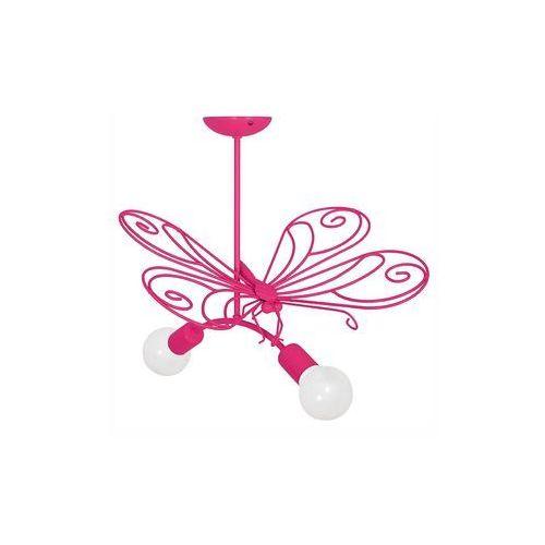 Luminex Lampa wisząca dziecięca motylk 2xe27/60w