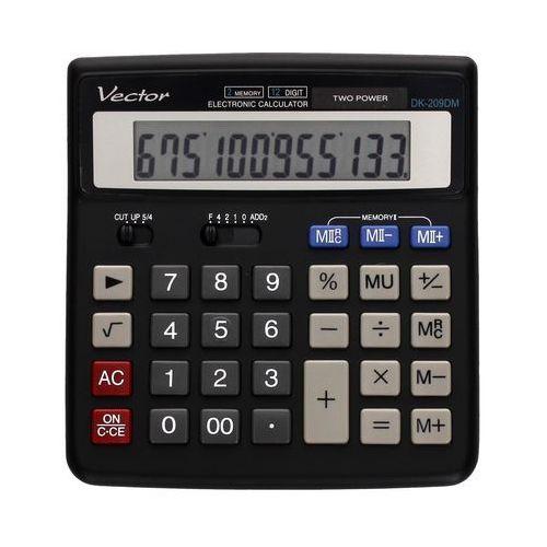 Kalkulator 12pozycyjny DK209DM Vector. Najniższe ceny, najlepsze promocje w sklepach, opinie.