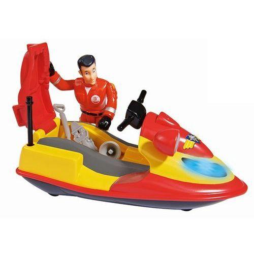 Simba strażak sam skuter ratowniczy z figurką