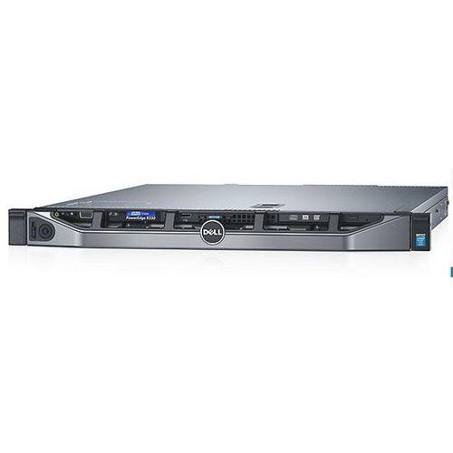 Dell Serwer  r330 intel xeon 4-core 3.5ghz / ram 8gb ddr4 / hdd 1x300gb sas / h730/1gb cache z raid5 / zasilanie nadmiarowe / 3y nbd