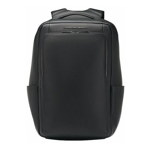 Porsche design roadster plecak skórzana 44 cm przegroda na laptopa black (4056487000633)