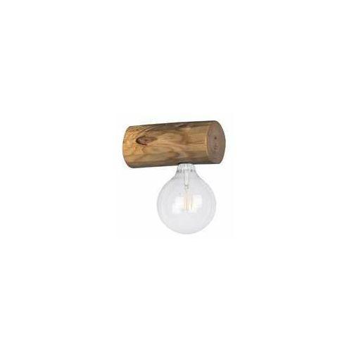 trabo simple 6994151 kinkiet lampa ścienna 1x25w e27 drewno marki Spot light