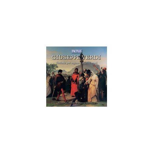 Giuseppe Verdi: Sinfonie Per Organo A 4 Mani, TC 812204