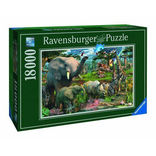 Puzzle RAVENSBURGER Przy wodopoju 178230 18000 elementów + DARMOWY TRANSPORT!, 4005556178230