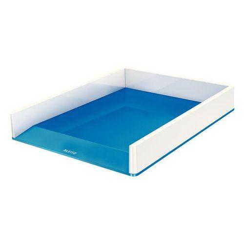 Leitz Półka na dokumenty wow dwukolorowa niebiesko-biała