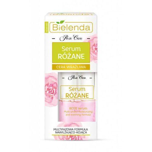 serum różane nawilżające cera wrażliwa - serum różane marki Bielenda