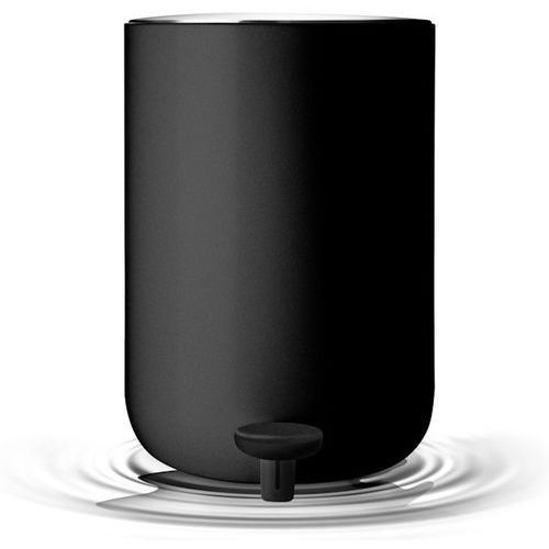 Menu Kosz łazienkowy  norm black 7 l
