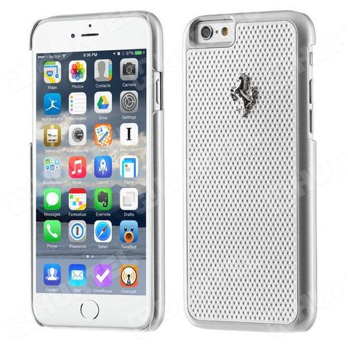 Ferrari  hardcase fepehcp6re iphone 6/6s perforated aluminium srebrny darmowa dostawa do 400 salonów !!