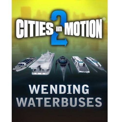 Cities in Motion 2 Wending Waterbuses (PC)