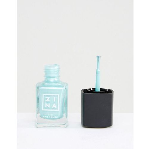 the nail polish - chromes - green marki 3ina