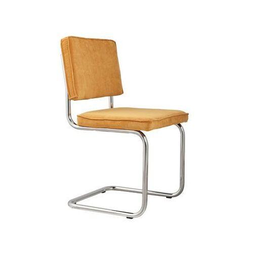 Zuiver krzesło ridge rib żółte 24a 1006010 (8718548002845)