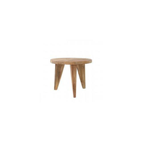 Stolik kawowy s z drewna tekowego - marki Hk living