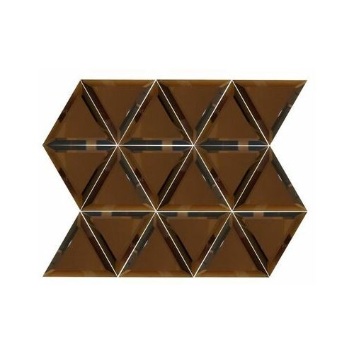 Mozaika Triangle Copper 28.4 x 38 Euroceramika