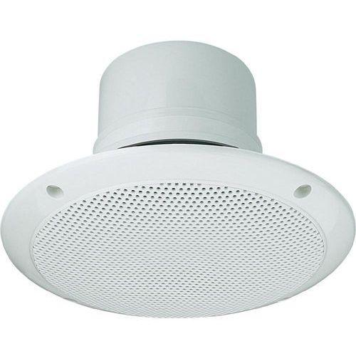 Głośnik sufitowy PA do zabudowy Monacor EDL-206, 85 - 18 000 Hz, 100 V, Kolor: biały, 1 szt. z kategorii Głośniki i monitory odsłuchowe