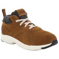 Buty sportowe dla dzieci CITY BUG TEXAPORE LOW K desert brown / champagne - 32, kolor brązowy