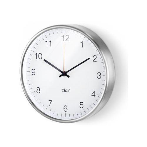 Zegar Zack Palla 24 cm biały, 60025