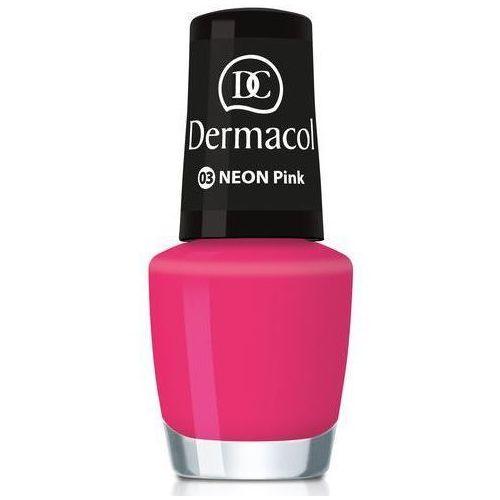 Dermacol Neon Polish 5ml W Lakier do paznokci 03 pink (85954649)
