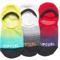 Skarpetki - fader invisible sock-3pk multico (3282), Rip curl