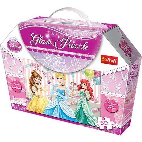 Puzzle TREFL Glam Księżniczki 14802 (50 elementów)
