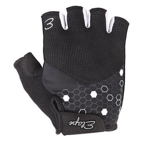 rękawiczki rowerowe damskie betty, czarno-biały l marki Etape