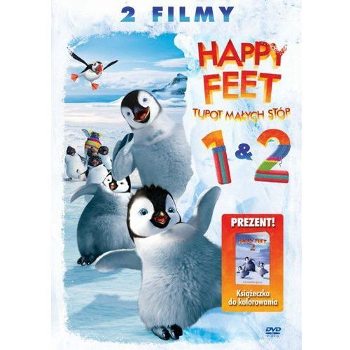 Film GALAPAGOS Happy feet 1+2 (3 DVD) z kategorii Filmy animowane
