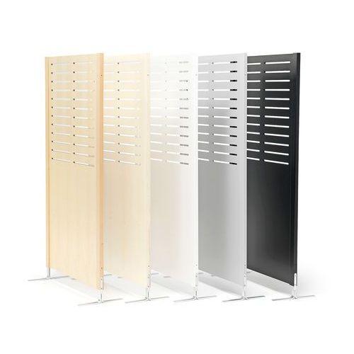 Ścianka działowa free, linie, 940x1720 mm, czarny marki Aj produkty