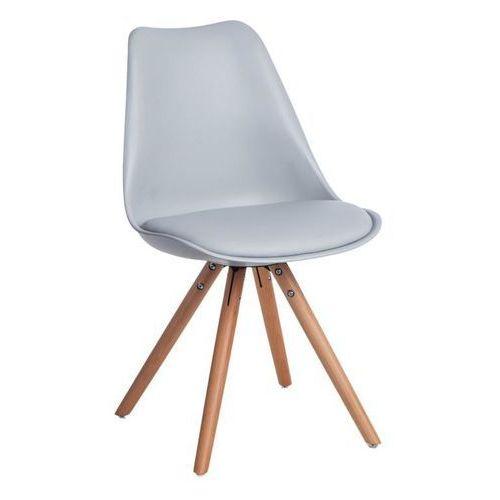 D2.design Krzesło norden star pp szare 1608 - szary (5902385729970)