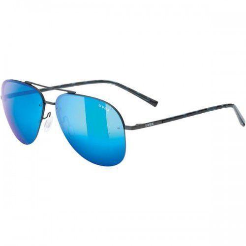 UVEX okulary lgl 40 (S3) gun mat z szybą mirror blue, 53/2/030/4716/UNI