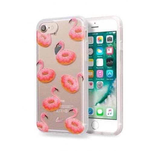 Laut Etui  pop ink flaming do apple iphone 7 wielobarwny + dwie folie na wyświetlacz (4895206901154)