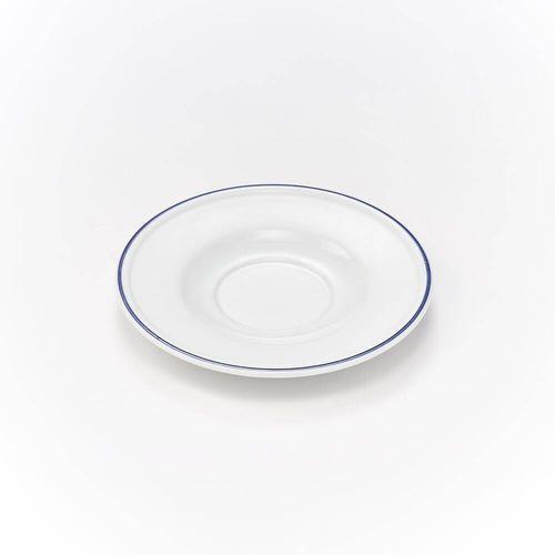 Spodek pod bulionówkę porcelanowy koneser - śr. 16 cm marki Karolina