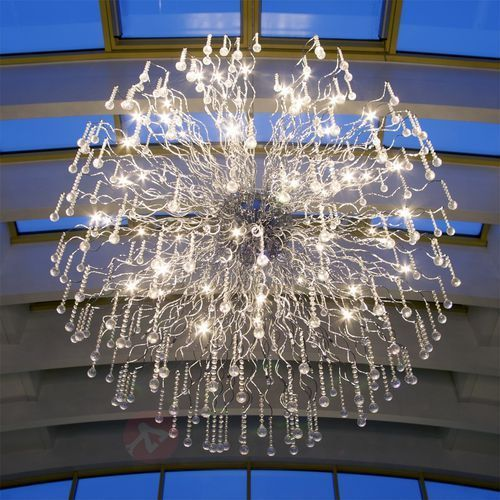 nash xxl lampa wisząca chrom, 48-punktowe - klasyczny - obszar wewnętrzny - xxl - czas dostawy: od 4-8 dni roboczych marki Brilliant