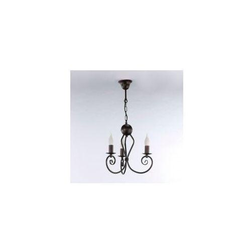 Lampa wisząca kliwia classic venge 3 żar. 3559 marki Namat
