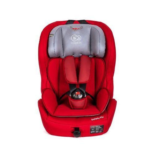 OKAZJA - KinderKraft Fotelik samochodowy SAFETY-F Red z systemem ISOFIX (5902021215263)