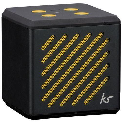 KitSound Tilt głośnik Bluetooth Przenośny skuwka z zintegrowany mikrofon kompatybilny z Apple iPhone, iPad, iPod, smartfonów/tabletów z systemem Android i Windows czarny
