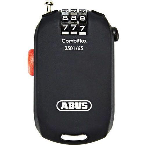 ABUS Combiflex 2501 Zapięcie rowerowe czarny 2018 Zapięcia na szyfr