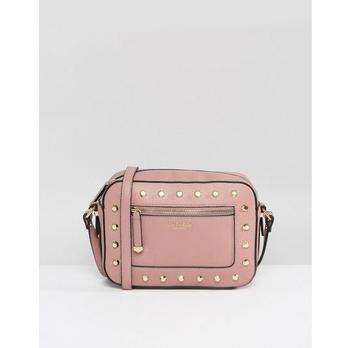 Carvela Mia Studded Cross Body Bag - Pink