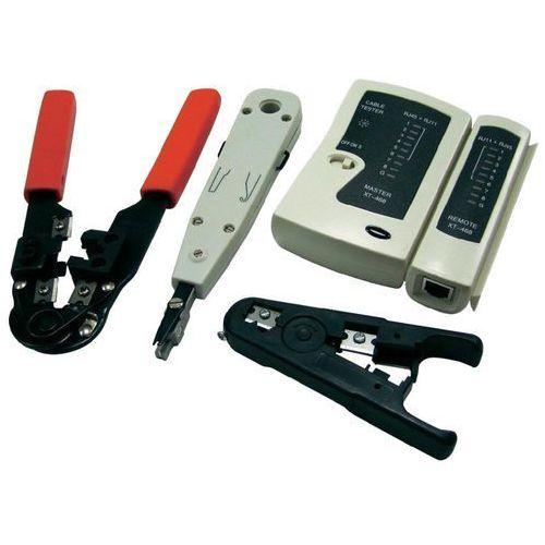 LogiLink Zestaw narzędziowy dla instalatora sieci, 441577