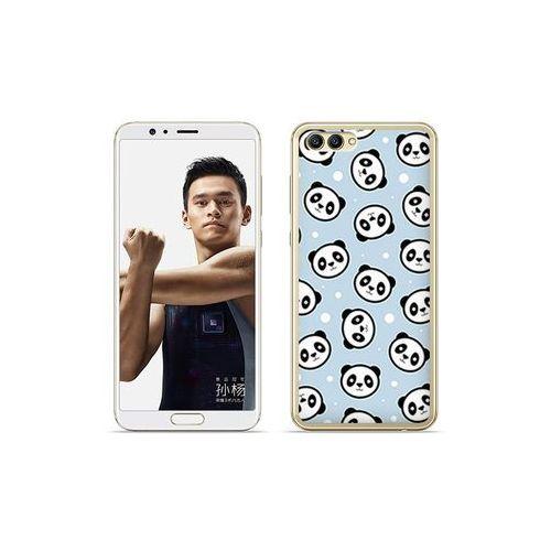 etuo Fantastic Case - Huawei Nova 2S - etui na telefon Fantastic Case - panda na niebieskim tle, kolor niebieski