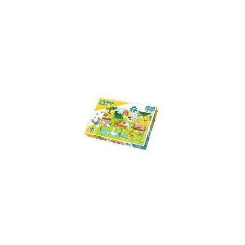 Trefl Puzzle baby 15 elementów maxi - zwierzęta na wsi - poznań, hiperszybka wysyłka od 5,99zł!