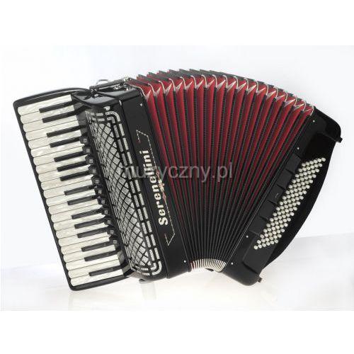 374 37/4/11 96/5/5 piccolo akordeon (czarny) marki Serenellini