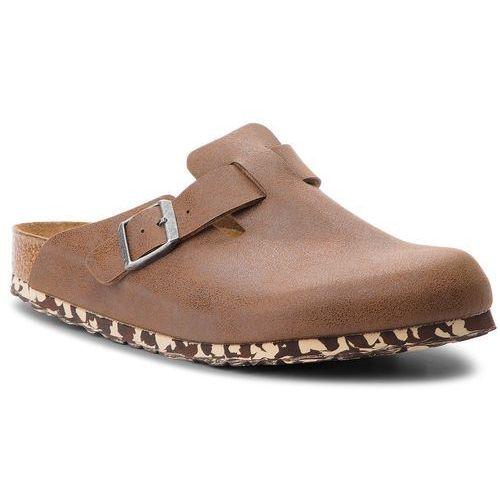 Klapki BIRKENSTOCK - Boston Bs 1012260 Sandwashed Brown, kolor brązowy