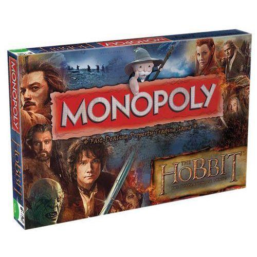 Gra Monopoly z filmu Hobbit Desolation of Smaug - wersja angielska (WIMO21593) (gra planszowa)