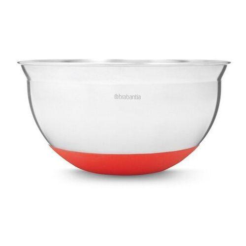 Brabantia Misa kuchenna stalowa 1,6 l z czerwoną podstawą (8710755364365)