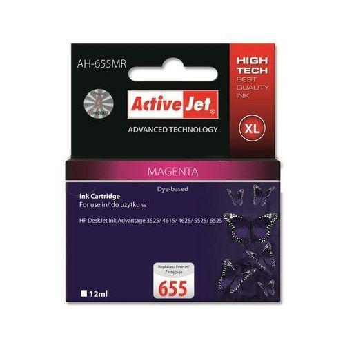 Activejet tusz ah-655mr / cz111ae nr 655 (magenta) darmowy odbiór w 19 miastach!