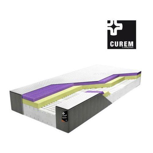 Curem.reg – materac piankowy, twardość - twardy, rozmiar - 200x200 wyprzedaż, wysyłka gratis, 603-671-572 marki Curem by hilding