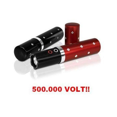 Platinium ltd. Paralizator obronny (500 tyś. volt!!) ukryty w flakoniku na perfumy + latarka led (2 kolory).