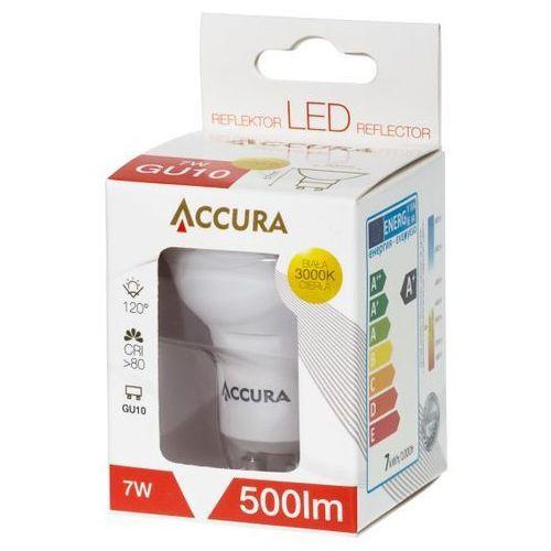 Żarówka LED SMD2835 7W GU10 ciepła ACCURA, towar z kategorii: Żarówki LED