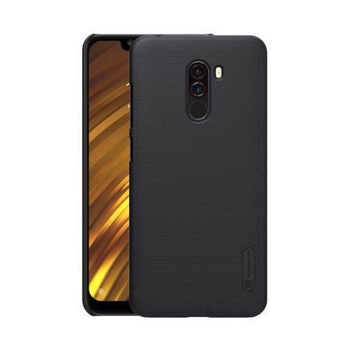 Etui Nillkin Frosted Xiaomi Pocophone F1 - Black - Black (6902048163577)