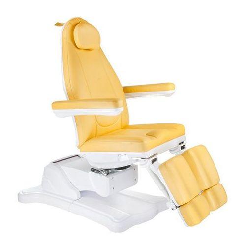 Beauty system Elektryczny fotel kosmetyczny mazaro br-6672a miodowy. Najniższe ceny, najlepsze promocje w sklepach, opinie.